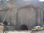 Terminación de túneles falsos 1 y 2.