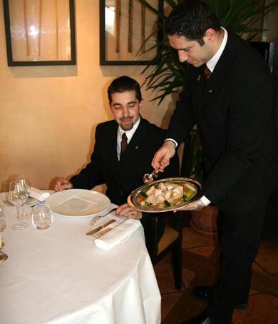 Tipos de servicio servicio a la inglesa formaci n de for Como se dice mesa en frances