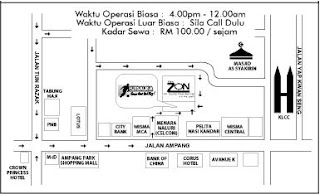 futsal ria map