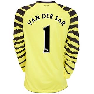 Man Utd new home goalkeeper kit