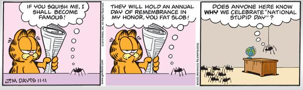 funniest garfield strip ever