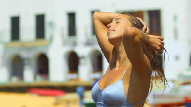Gemma Mengual en el anuncio de Soy fan de Catalunya