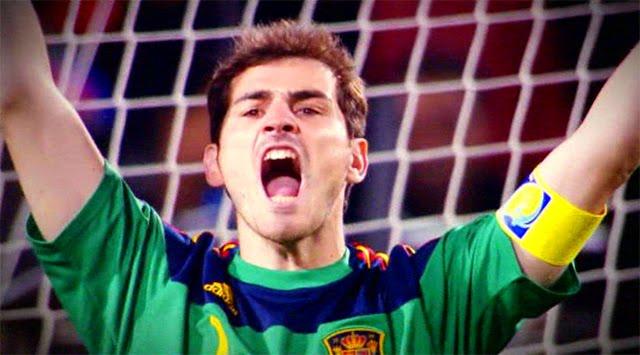 Iker Casillas, el capitán de La Roja