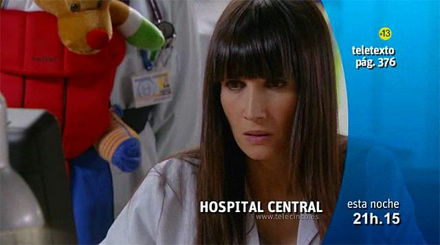La actriz Elia Galera en la Promo Telecinco Series Hospital Central 5ª Semana Enero 2011