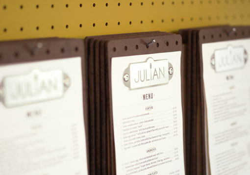 Fancy restaurant menu templates white space and neat layout is