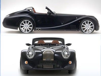 Morgan Aero SuperSports 4.8 liter BMW V8 engine Is a Luxurious Flamboyant Sports Car.