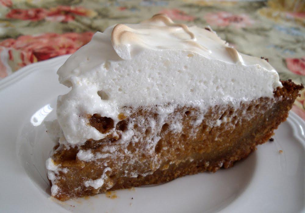 ... : Thanksgiving Wishes & Sweet Potato Pie with Marshmallow Meringue