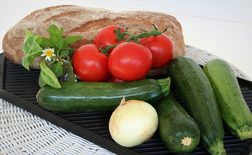 Grilled Vegetable Panini   Grateful Prayer   Thankful Heart