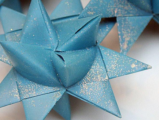 german paper stars