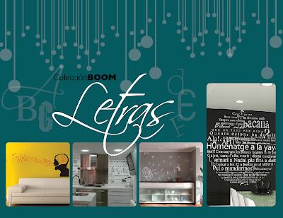 Boom vinilos decorativos letras for Vinilos decorativos letras