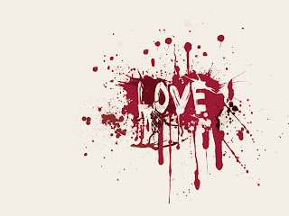 Bloody Love Wallpaper