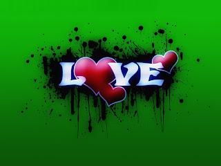 Viva Three Hearts Love Wallpaper