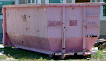 Now that is a Shabby Dumpster!