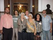 Família Alcoforado prestigiando Lançamento Pontes dos Sonhos do Brasil para Frankfurt- C.M.Niterói