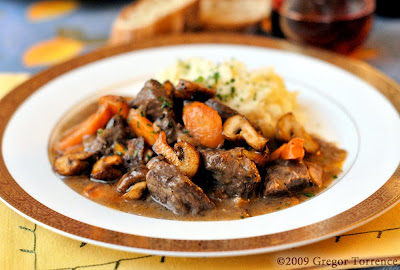 Beef Bourguignonne, By Request