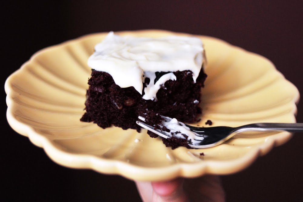 Ivy's Chocolate Beet Cake with Cream Cheese Frosting