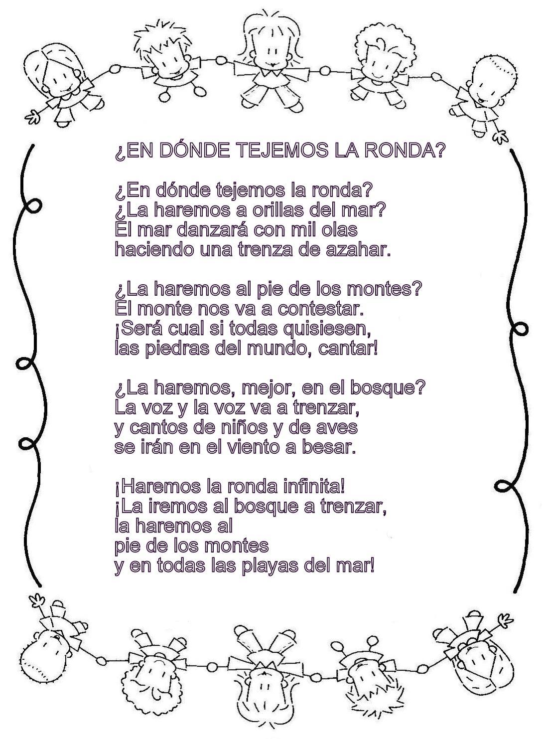 letras de canciones folclorica:
