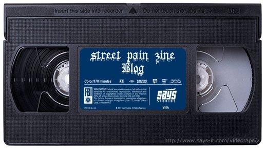 Street  Pain E- Zine