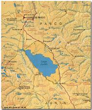 Mapa del Lago Chinchaycocha