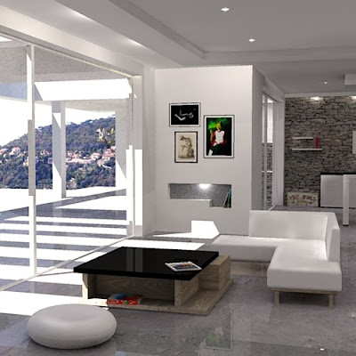 Living Room Design Photos on New Exclusive Home Design  Interior Design  Living Room  French