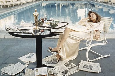 FAYE DUNAWAY as Diane Christensen in NETWORK (1976)