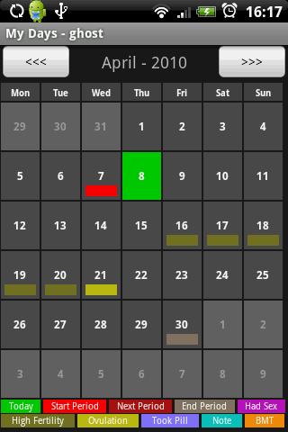 календарь для андроида - фото 8