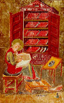 Cassiodorus in His Library
