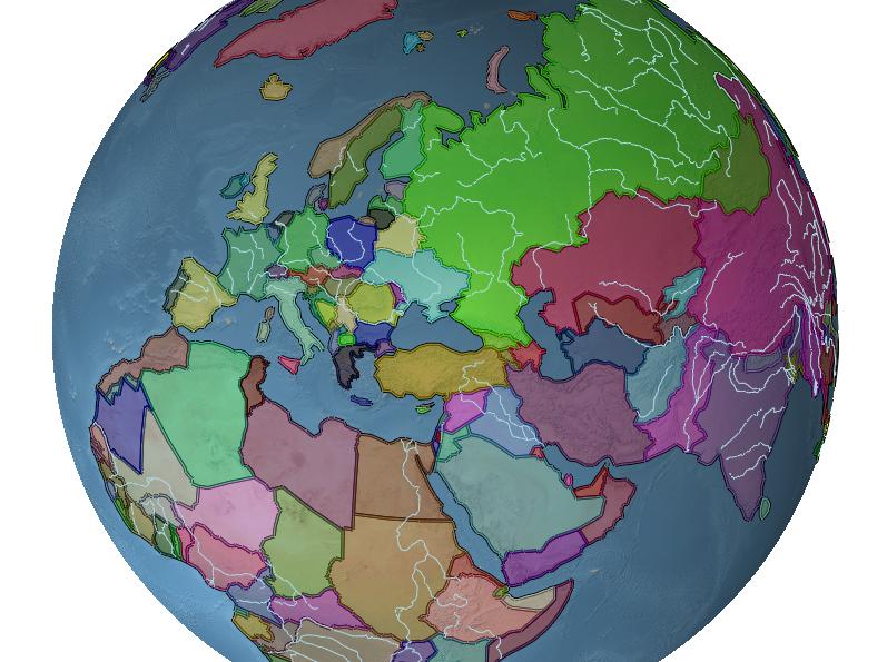 Virtual Globe and Terrain Rendering: Rendering Vector Data