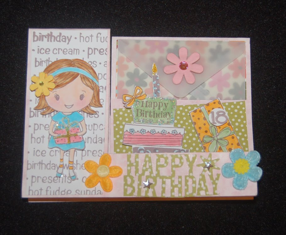 Lynn S Craft Blog Belated Happy Birthday Card