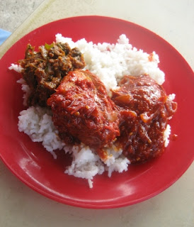 Nasi Lemak with Rendang @ Port Dickson
