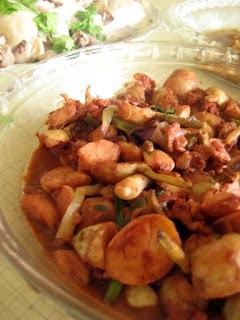 Stir Fry Ngaku@ Chinese New Year