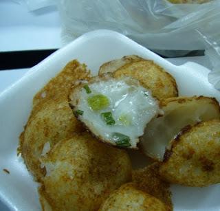 Kanom Krok / Coconut Pancake @ Bangkok Street Food
