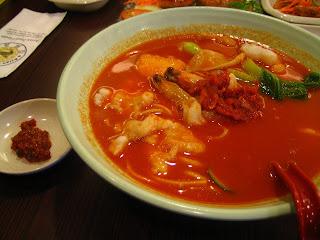 Korean Kimchi Noodle @ Asian Food House, DU, PJ