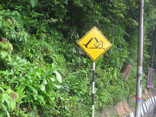 Penang funny road sign
