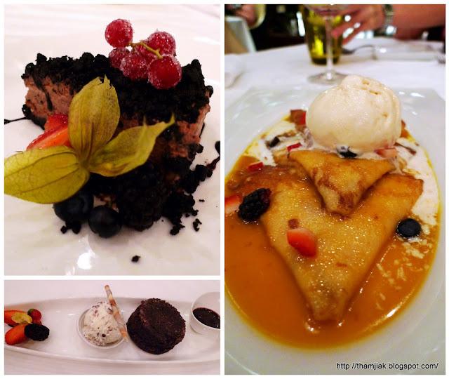 Desserts @ Prime, Le Meridien KL