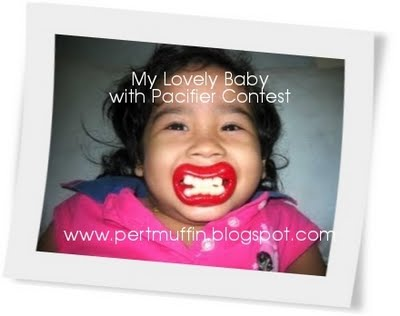My Lovely Baby With Pacifier Contest