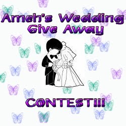 AMEH'S WEDDING GIVE AWAY  CONTEST