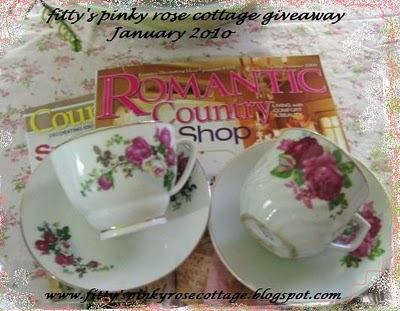Fitty's Pinky Rose Cottage Giveaway