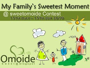 MY FAMILY'S SWEETEST MOMENT @ SWEETOMOIDE CONTEST