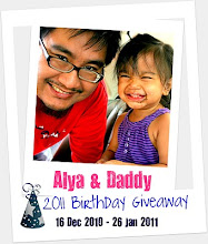 ALYA & DADDY 2011 BIRTHDAY GIVEAWAY