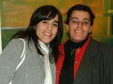 Nancy con su hija NADIA