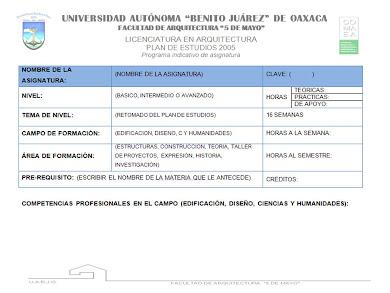 FORMATO PROGRAMA DE ASIGANTURA