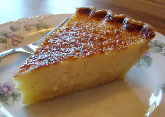 Buttermilk Pie from Better Homes and Gardens