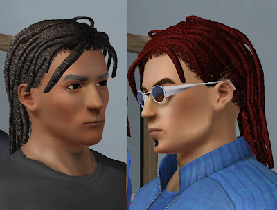 the sims 2 hairstyle. More Manly Hair: Sims 2