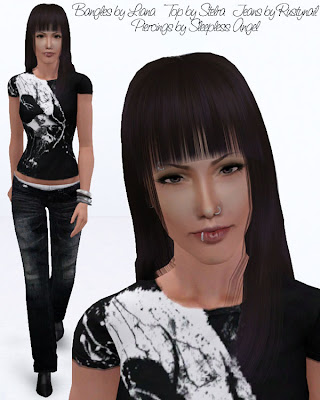 My Sims 3 Blog: Alessia Bianchi by LadyFrontbum