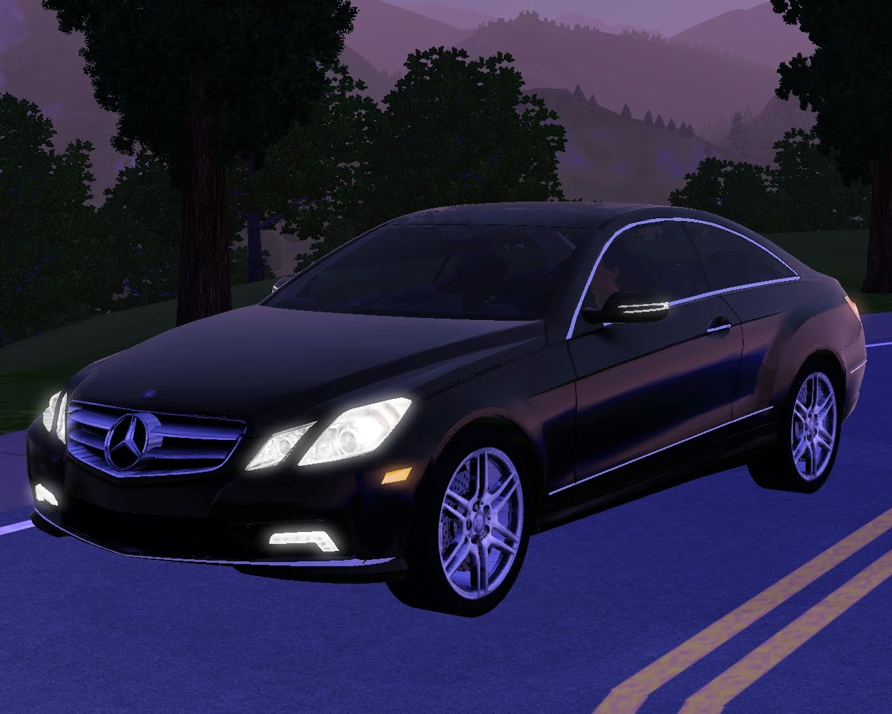 My sims 3 blog 2010 mercedes benz e550 coupe by fresh prince for 2010 mercedes benz e550 coupe