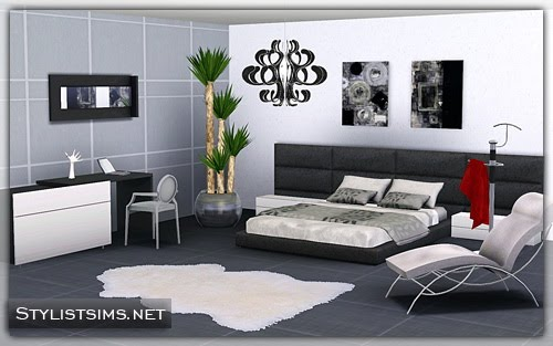 My sims 3 blog ohio bedroom set donation for Bedroom designs sims 4