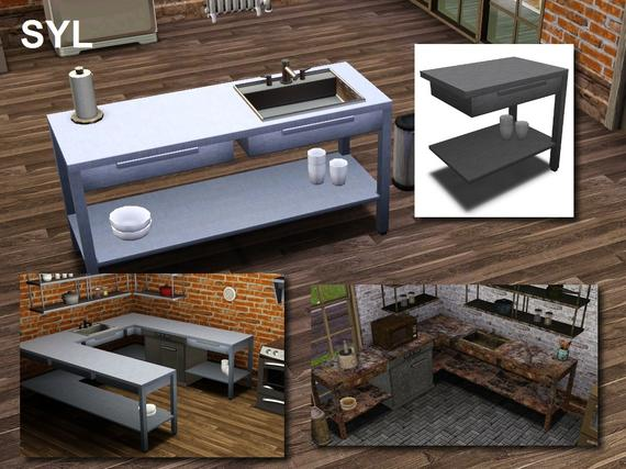my sims 3 blog industrial kitchen set by eryt96