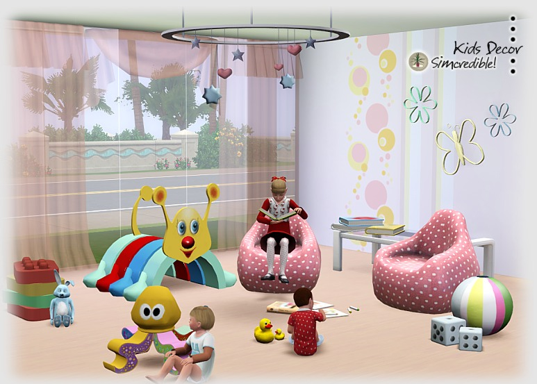 My Sims 3 Blog Decor For Kids Room By Simcredible Designs