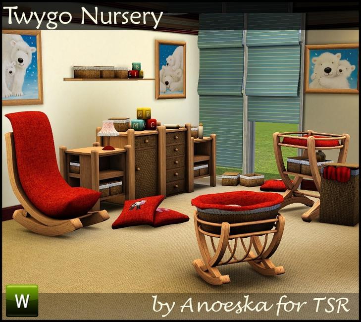 My sims 3 blog twygo nursery by anoeskab